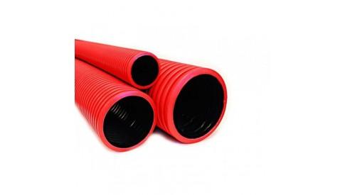 Труба гофрированная двустенная для прокладки кабеля D=50, SN26, 100м