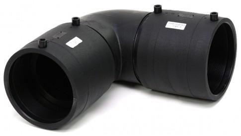 Отвод 90° электросварной d. 180 SDR11
