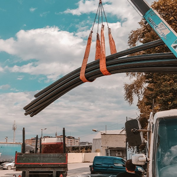 Отгрузки ПНД трубы со склада Волгоград от 27 июля 2017 года