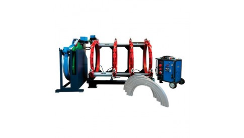 Аппарат для стыковой сварки ПЭ труб Turan Makina AL 630, 315-630мм