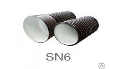 Труба (FD Пласт) гофрированная с раструбом SN6 Диаметр340х300