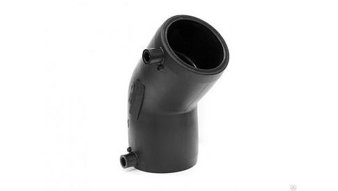 Отвод 125 мм 45 гр