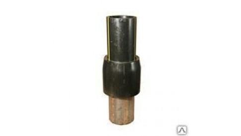Неразъемное соединение полиэтилен-сталь 63х57 ГАЗ ПЭ100 SDR 9