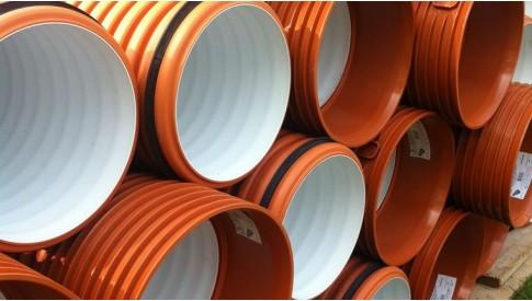 Гофрированные перфорированные трубы ПЕРФОПЛАСТ диаметром от 110 до 1600 мм